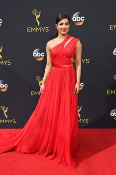 Priyanka Chopra in Jason Wu - Best Dressed at the 2016 Emmy Awards - Photos