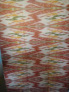 Ikat Fabric Designs