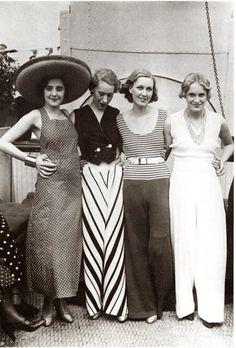 Historia de la Moda y los Tejidos: EL ESTILO CHIC DE LOS AÑOS 30