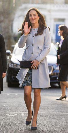 La duquesa de Cambridge: 'No sé si es niño o niña, pero se mueve mucho' - Foto 2
