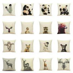 Retro Cotton Linen Pillow Case Sofa Waist Throw Cushion Cover RUSTIC Home Decor #Unbranded #Modern