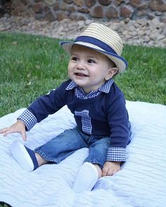 You Are Never Fully Dressed Without A Smile Happy Birthday Big Guy Brimmerboys Firstbirthday