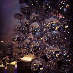 I love disco balls #london #W #nightlife - @verygorgeous- #webstagram