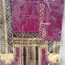cotton kaftan/abeya/jilbab one size.full length Bordeaux Shade
