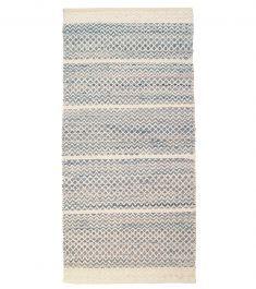 Mervi Pesonen: Usva-puuvillamatto, sininen