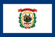 West Virginia State Flag - Various Sizes