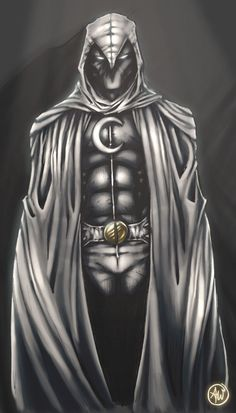 Moon Knight by *AdamWithers on deviantART
