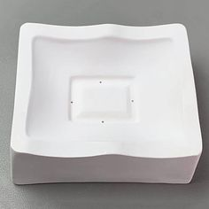 Small Square Slumping Mold with Rounded Sides