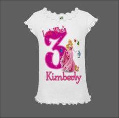 Sleeping Beauty Birthday Shirt - Princess Aurora Birthday