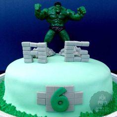 Bolo incrível Hulk