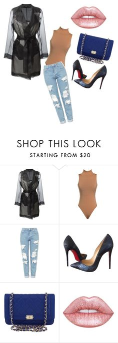 """""""Kardashian Essentials"""" by li-janee on Polyvore featuring Maison Margiela, Topshop, Christian Louboutin, Chanel and Lime Crime"""