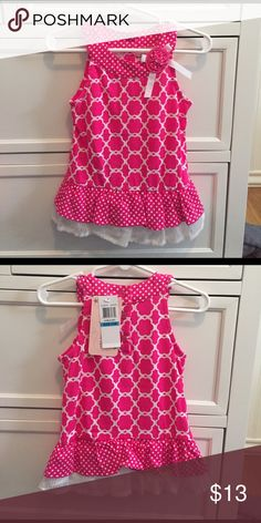 NWT Toddler Dress Was a 2 piece set. Kept the pants. Brand new dress perfect with leggings. Dresses Casual