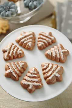 Metallic Spritz Cookies