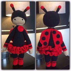 Ladybug doll from lalylala patern.