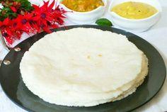 Biyyapu Rotte Recipe (Rice Flour Roti)