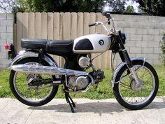 Honda CL90 1967 Classic Honda Motorcycles, Vintage Motorcycles, Cars And Motorcycles, Honda S90, Honda Scrambler, Honda Motors, Honda Bikes, Moto Car, Motorised Bike
