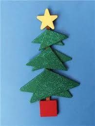 Triangle Tree Ornament