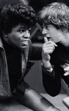 cool - James Brown Mick Jagger youtubemusicsucks.com