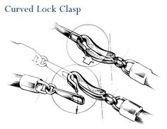 Curved Lock claspFree Diy Jewelry Projects | Learn how to make jewelry - beads.us