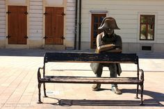 Statue of Napolen Soldier. More on http://bratislava-slovakia.eu/about-bratislava/bratislava-city-parts/old-town
