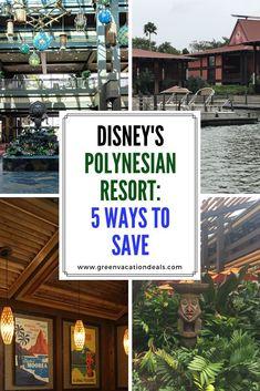 Disney Polynesian Resort: 5 Ways to Save Disney World Hotels, Walt Disney World Vacations, Family Vacation Destinations, Vacation Deals, Florida Vacation, Disney World Resorts, Family Vacations, Travel Deals, Disney Cruise