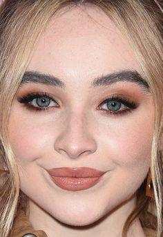 Close-up of Sabrina Carpenter at Variety's 2017 Hitmakers Awards. Makeup On Fleek, Glam Makeup, Eyebrow Makeup, Beauty Makeup, Hair Makeup, Makeup Eyebrows, Sabrina Carpenter, Celebrity Makeup Looks, Celebrity Beauty