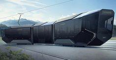 ロシアの新しい路面電車はサイバー感溢れる近未来デザイン Transport En Commun, Highlights, Futurism, United Russia, Baby Newborn