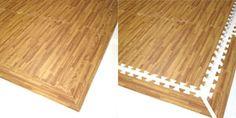 SoftTiles Wood Grain Foam Mats