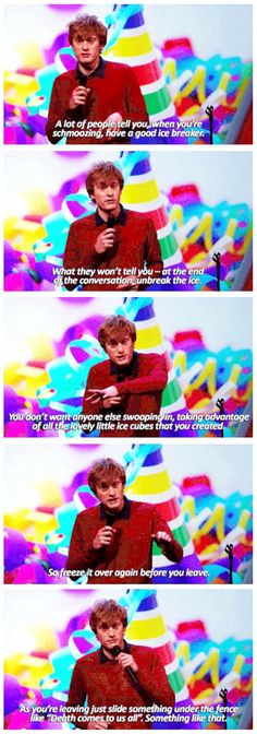 Ice breakers | James Acaster | Mock the Week