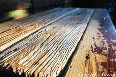 Rustic Driftwood Kitchen Island and Bench. I found this wood on the beach after a Tropical Storm washed it up. Driftwood Kitchen, Rustic Kitchen Island, Diy Furniture Projects, Pallet Furniture, Recycled Kitchen, Coastal Homes, Hardwood Floors, Tropical, Kitchen Ideas
