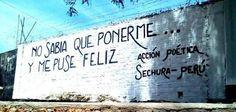 No sabia que ponerme... y me puse feliz #Acción Poética Sechura #accionpoetica