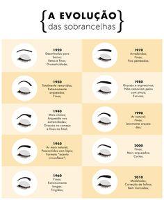 As sobrancelhas têm se tornado cada vez mais naturais | Elle Natural, Makeup Tips, Eyebrows, Marketing, Hair, Shapes Of Eyebrows, Make Up Looks, Up Dos, Beauty