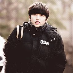 May I have that jacket, Sandeul-oppa? :)
