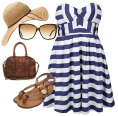 summer outfit - love this dress