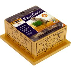 Pioneer Pet Kitty's Garden Item # 60140. Garden, $11.95. Garden Refill, $5.95. Green grass treats for your pets! Like people, cats need vegetables in their diet to aid in digestion and to provide balanced nutrition. https://theanimalrescuesite.greatergood.com/store/ars/item/60140/pioneer-pet-kittys-garden?source=4-426-40