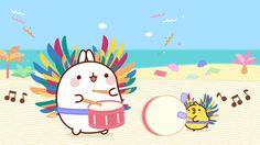 MOLANG — Molang and Piu Piu are ready for the Rio Carnival!...