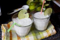 coconut limeade, slushie-style