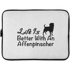 Life Is Better With An Affenpinscher Laptop Cases