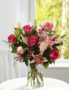 Large Rose & Lily Bouquet-Marks & Spencer