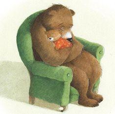 Baby Animals, Cute Animals, Bear Art, Children's Book Illustration, Illustration Children, Whimsical Art, Cute Drawings, Cute Art, Illustrators