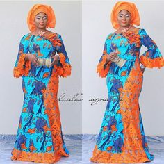 19 Ankara And Lace Combination That Makes Queen Of Every Lady! 19 Ankara And Lace Combination That Makes Queen Of Every Lady! African Dresses For Women, African Print Dresses, African Attire, African Wear, African Women, African Style, African Clothes, African Prints, African Fabric