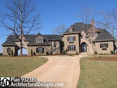 plan 9323el french country estate home plan french country house plans french country house and house