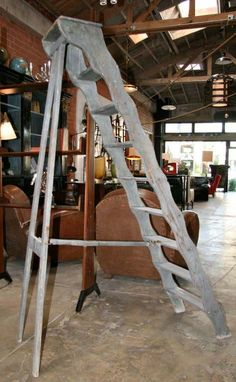 View this item and discover similar for sale at - Italian ladder from the Tuscan countryside. Ladder Stands, Home Accents, Countryside, Stair Brackets, Decoration