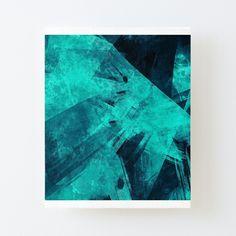 'Blue Please' Canvas Mounted Print by Beer-Bones My Canvas, Canvas Prints, Art Prints, Bones, Print Design, My Arts, Tapestry, Dark, Artist