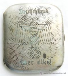 Segunda Guerra Mundial: NSDAP/ Pitillera de Plata 800 / WII en todocoleccion