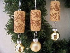The perfect gift for the wine enthusiast. These cute little ornaments will make a lovely addition to a tree, a package, or to hang from a wine bottle. This listing is for a set of 3 ornaments. You may choose all of one color, or you can mix and match. If you want just 1 or 2, convo me