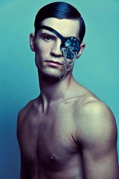 Feather-Faced Mask Shoots - The Laura Kampman Steven Meisel Editorial Features a Dark Aesthetic (GALLERY)