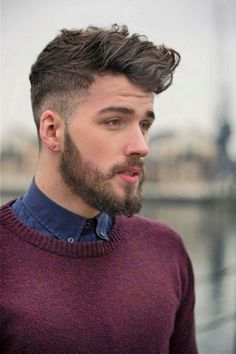 25 AMAZING MENS FADE HAIRSTYLES Ryan   Fade Hairstyles, Short Hairstyles Fade hairstyles are becoming extremely popular amongst men lately. The fade haircut is one that is usually accompanied on haircuts that are shorter in length, but we are now seeing longer hair on top with a fade come into men's hairstyle trends. Check out these barbershop fades we've gathered for you that feature short buzz cut fades to medium length hairstyle fades! JAGGED FADE against the tight lines of a classic fade