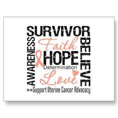 I Am A Uterine Cancer Survivor♥