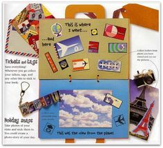 Use this template to make a Suitcase Lapbook! Would be great for an Around the World Unit Study